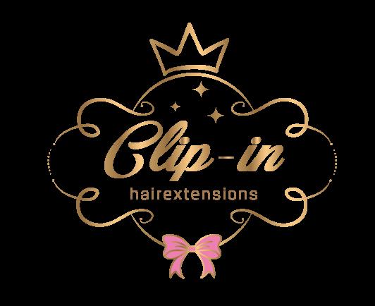Logo clip in hair