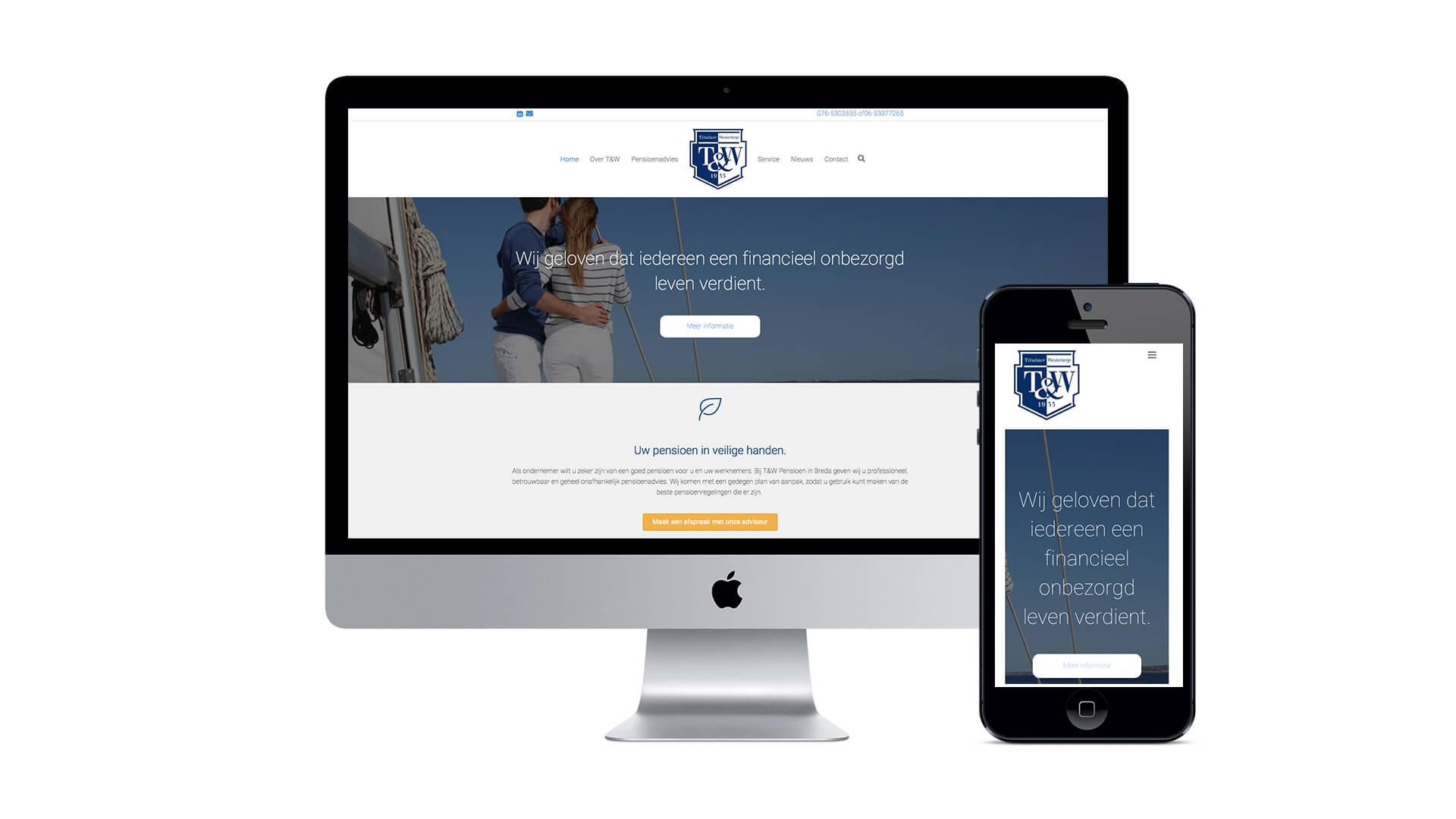 Pensioenadvies breda website