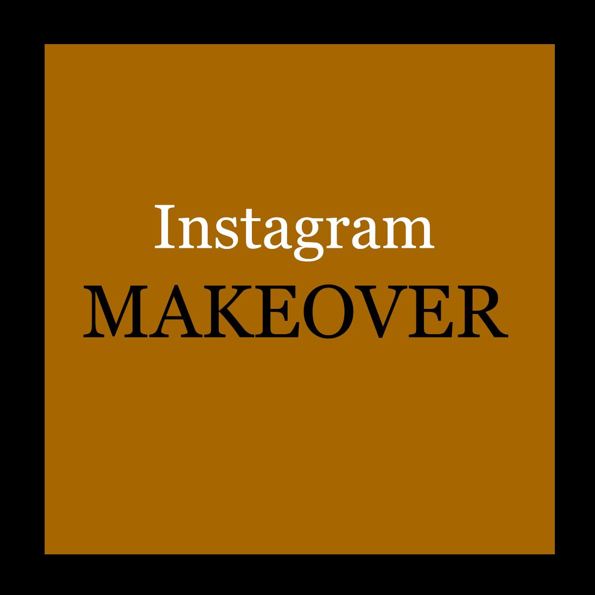 Instagram make over logo nieuw