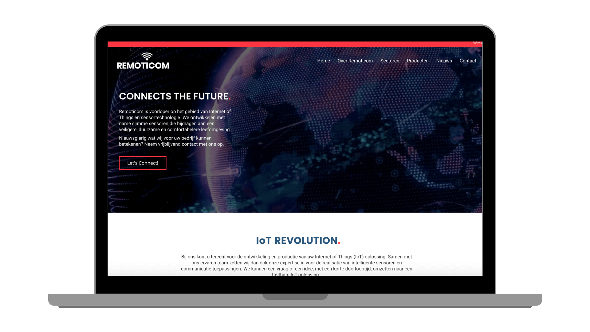 Remoticom website