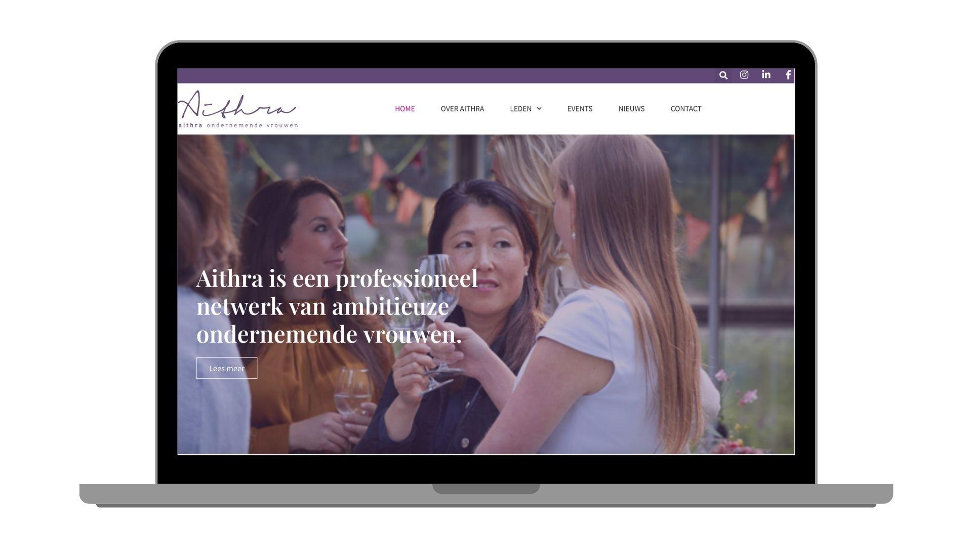 Aithra website