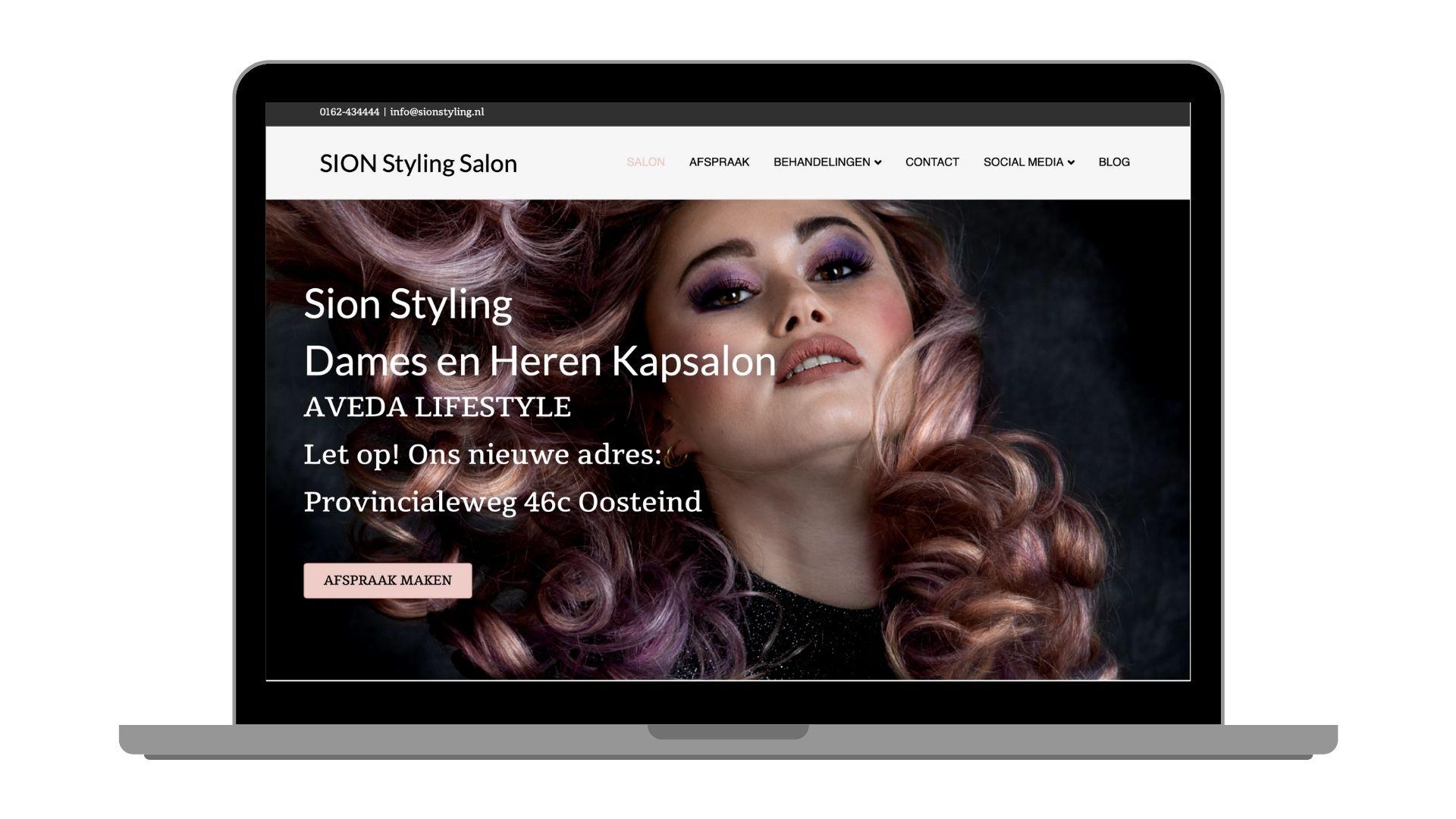 Aveda Kapsalon Sion Styling